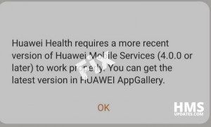 Huawei Mobile Services latest version fix