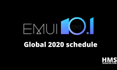 Huawei announces EMUI 10.1 global 2020 schedule