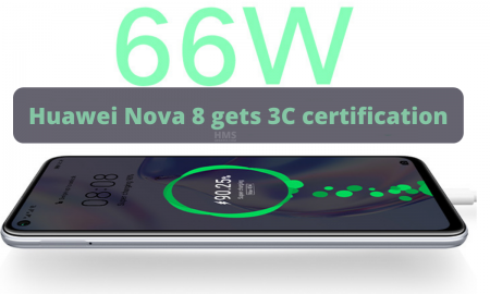 Huawei Nova 8 gets 3C certification
