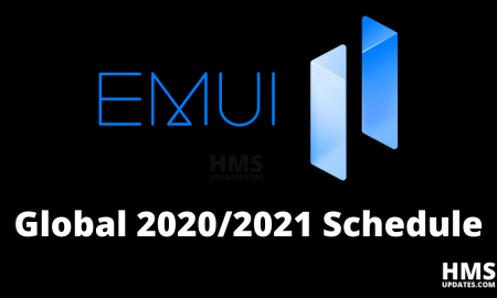 Huawei announced EMUI 11 2020-21 schedule